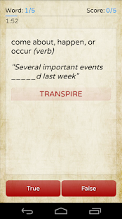 Red Words screenshot