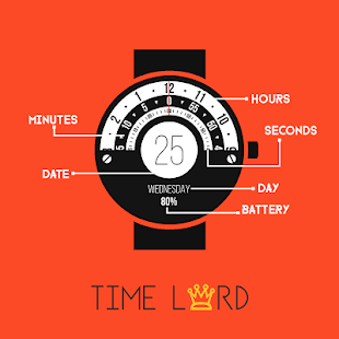 Time Lord - Watch Face Screenshot