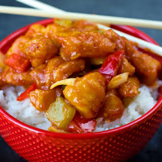 Better Than Takeout Sweet and Sour Chicken.