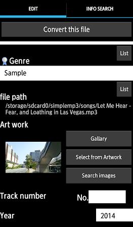 TK Music Tag Editor 7.1.7 screenshot 393904