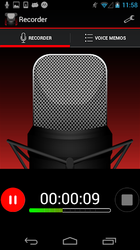 Voice Recorder HD 1.1.0 screenshots 1