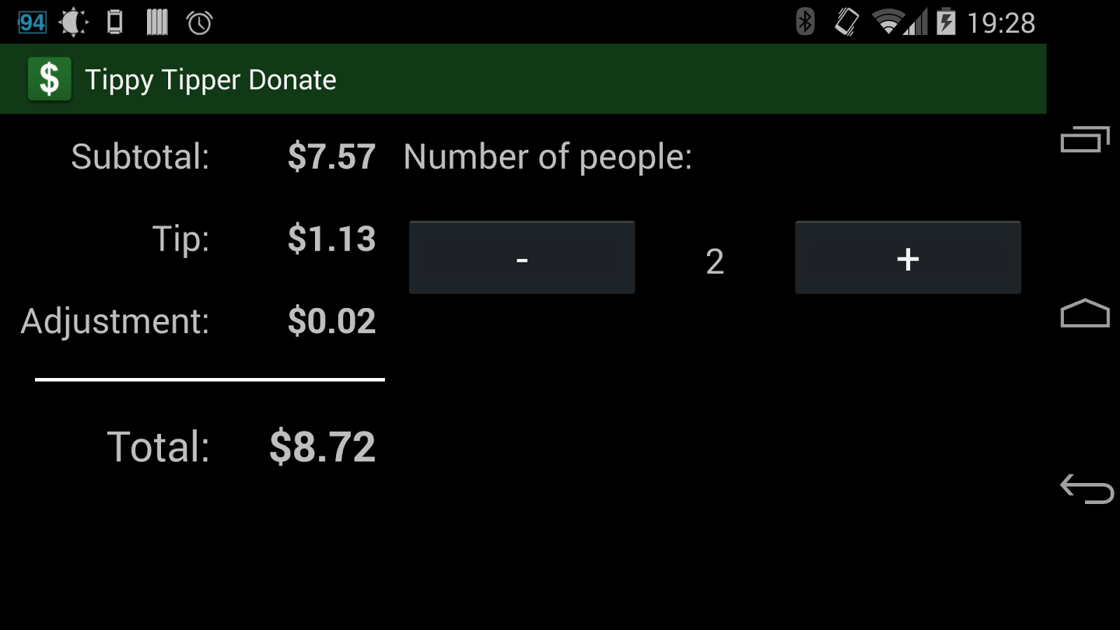 Tippy Tipper (Donate)- screenshot