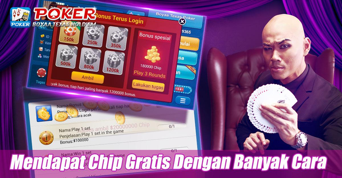 Cheat poker texas boyaa chip android