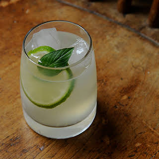 Gin Rickey (Is it a sin to drink gin before noon?).