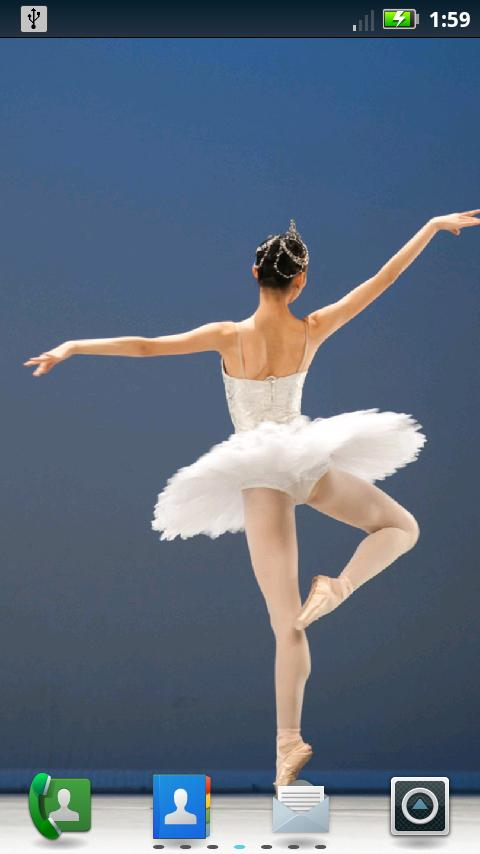 Ballet Live Wallpaper- screenshot