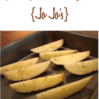 Seasoned Potato Wedges Recipe {Jo Jo's}