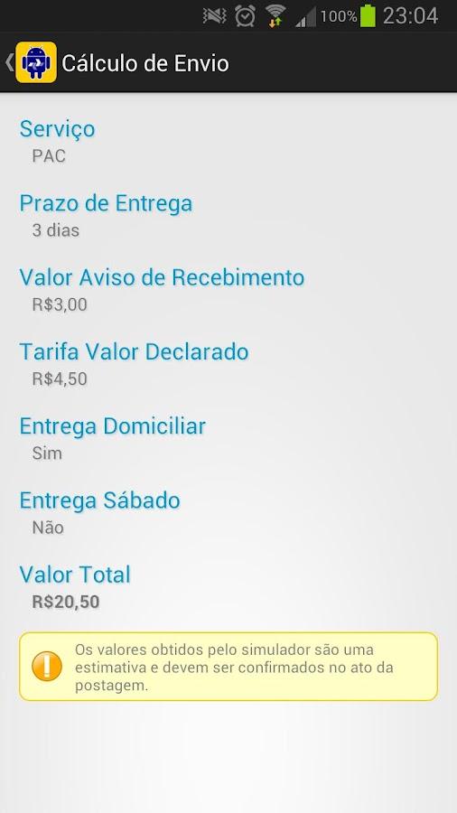Rastreio Correios PRO - screenshot