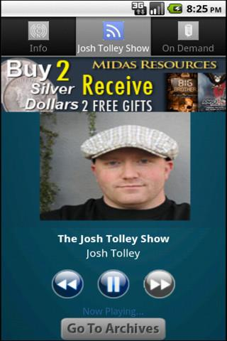 The Josh Tolley Show - screenshot