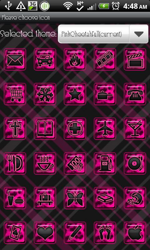 THEME|PinkCheetahFull - screenshot