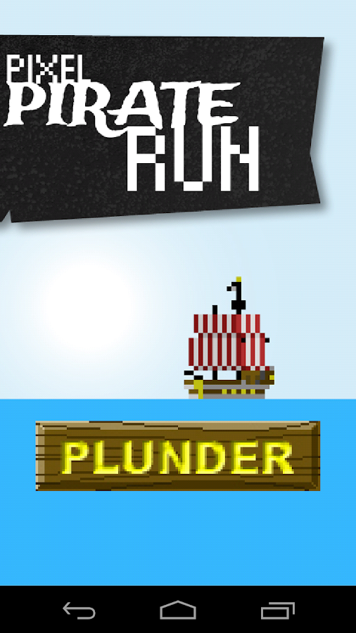 Pixel Pirate Run- screenshot