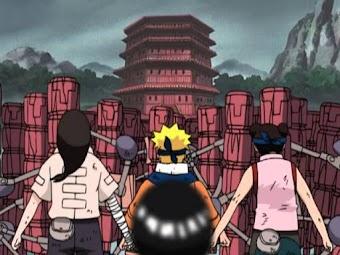 Naruto - Hot-Blooded Confrontation: Student vs. Sensei