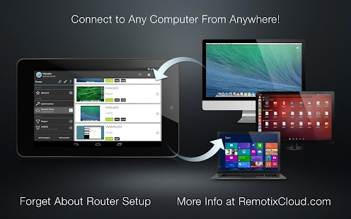 Remotix VNC RDP Remote Desktop- screenshot thumbnail