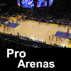 Pro Basketball Arenas Teams icon