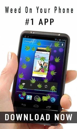 【免費街機App】Weed Falling On Phone-APP點子