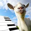 Goat Farm Animated 3D Piano icon