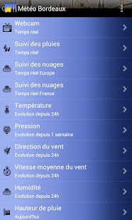 Météo Bordeaux - screenshot thumbnail