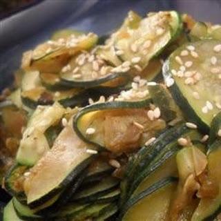 Chinese Braised Zucchini
