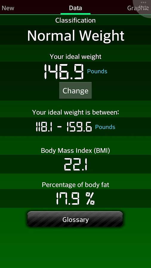 Weight Recorder BMI free- screenshot