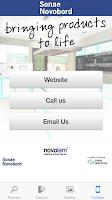 Screenshot of Novolam