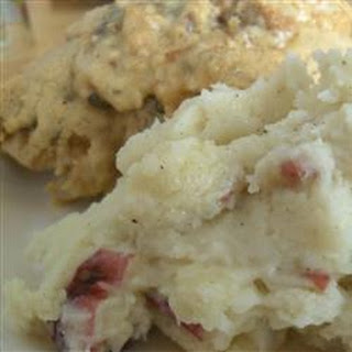 Herbed Garlic Mashed Potatoes