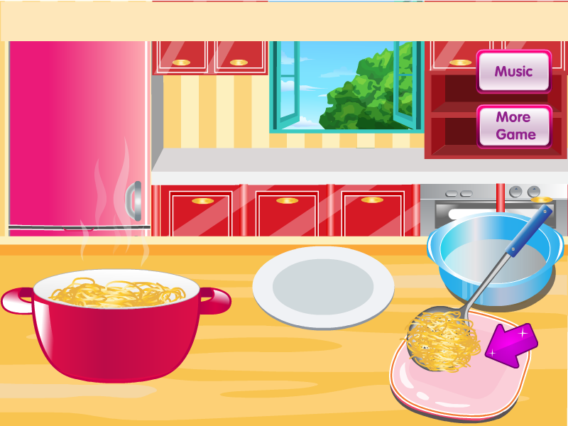 Cooking Spaghetti Bolognese - screenshot
