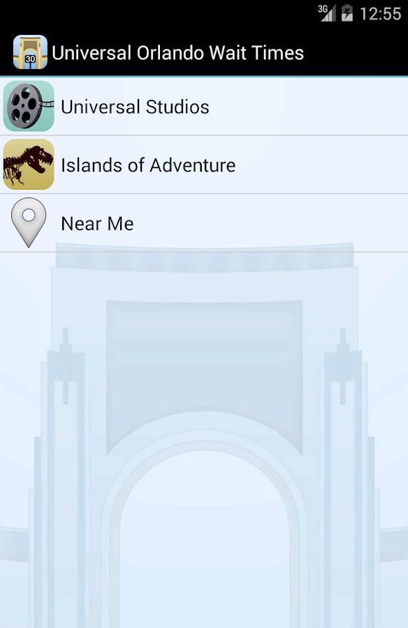 Universal Orlando Wait Times - screenshot