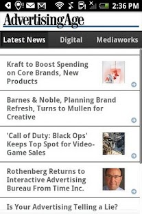 Ad Age Latest News - screenshot thumbnail
