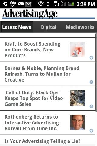 Ad Age Latest News - screenshot
