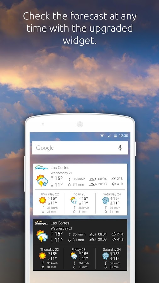 Weather by eltiempo.es- screenshot