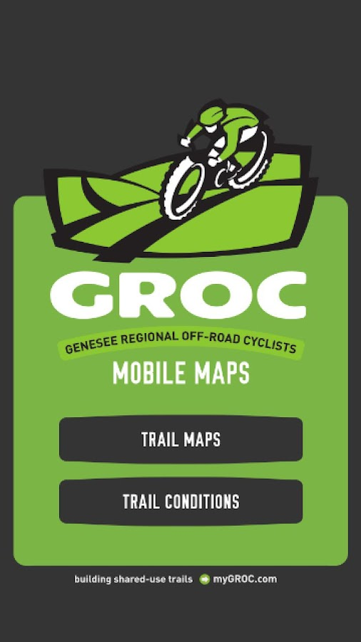 GROC Mobile Trail Maps 2.0- screenshot