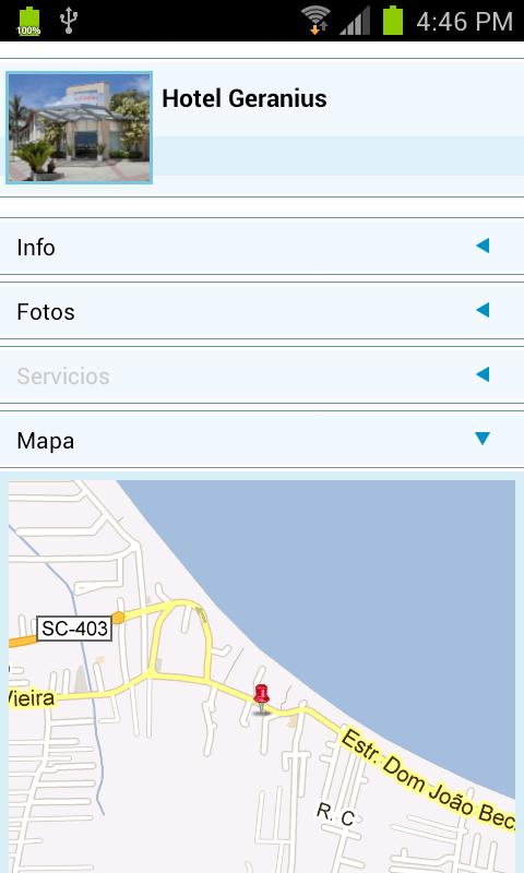 Florianópolis Guide- screenshot