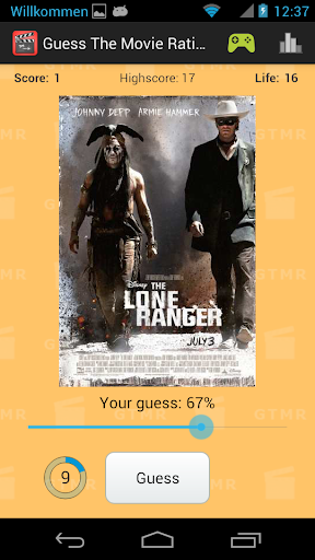 Guess The Movie Rating