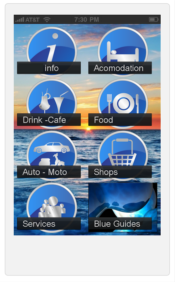Paros Blue Guides - screenshot