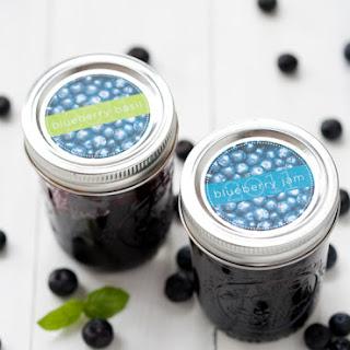 Blueberry Basil Preserves.