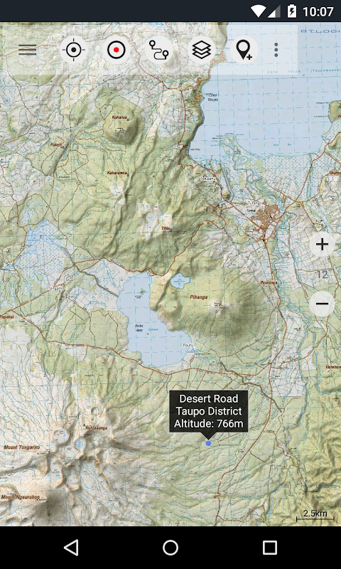 New Zealand Topo Maps Pro Android Apps On Google Play Backcountry