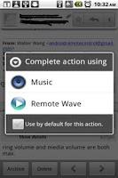 Screenshot of Remote Wave Free