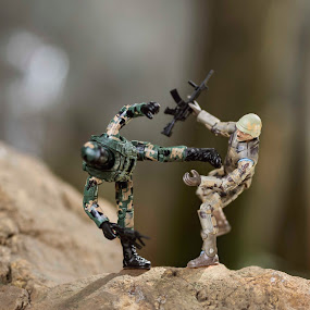 The Fight by Alfonso Rahardja - Artistic Objects Toys ( , toy, object )