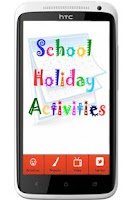 Screenshot of School Holiday Activities