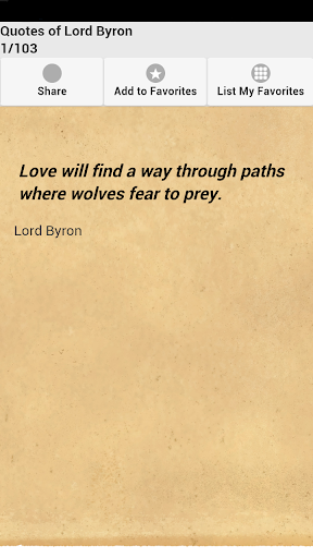 Quotes of Lord Byron