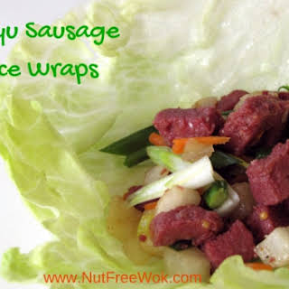Wagyu Sausage Lettuce Wrap Recipe & Review.