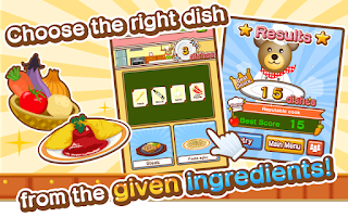 Screenshot of Kuma's Kitchen