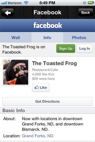 The Toasted Frog - screenshot