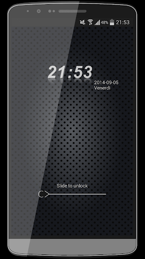 Carbon Fiber GO LOCKER THEME