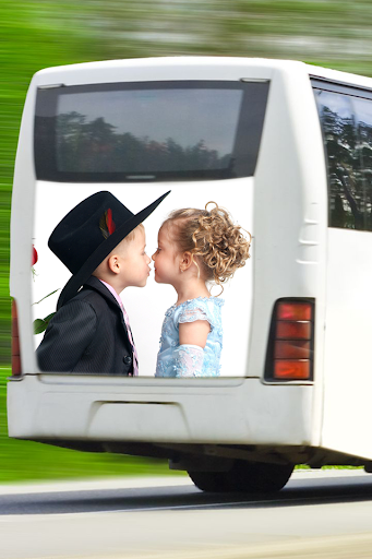 Bus Photo Frame