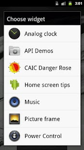 CAIC Danger Rose Widget - screenshot thumbnail
