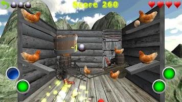 Screenshot of Crazy Eggs 3D