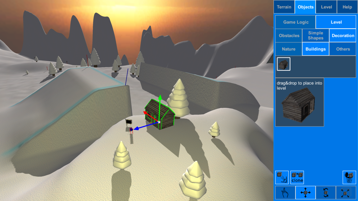 Mad Snowboarding- screenshot