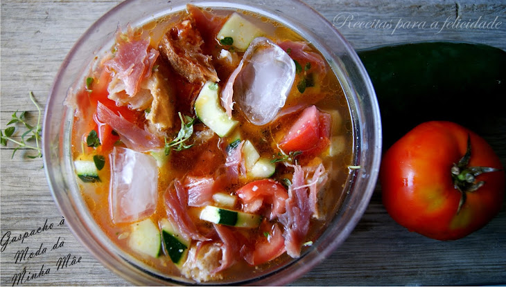 NOTE to EDITOR: Title Is Not Clear Mama-Style Gazpacho Recipe
