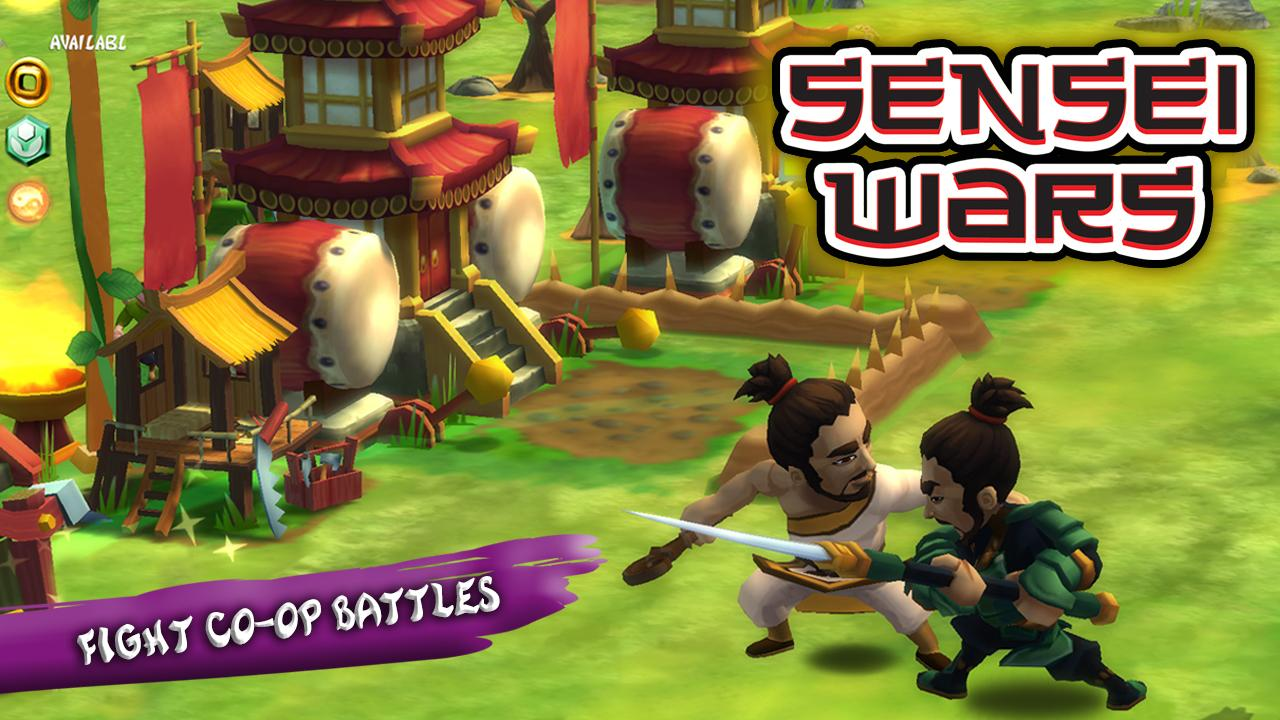 Sensei Wars - screenshot