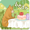 SweetLiveWallpaper Bear'sLunch icon